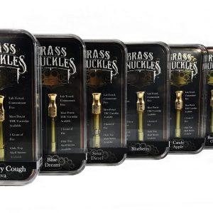 Brass Knuckles High THC Vape Cartridges UK