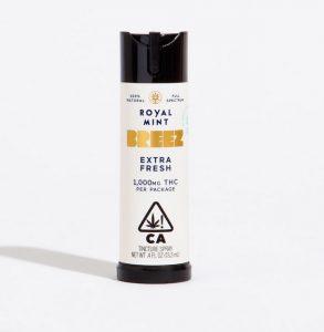 Buy Breez Royal UK Mint Spray 1000mg