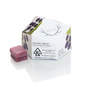 Marionberry Indica UK Enhanced Gummies 100mg