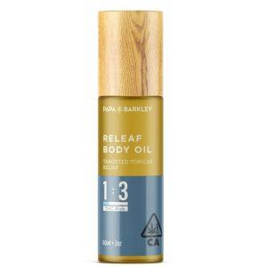 Releaf UK Body Oil 1 3 CBD THC